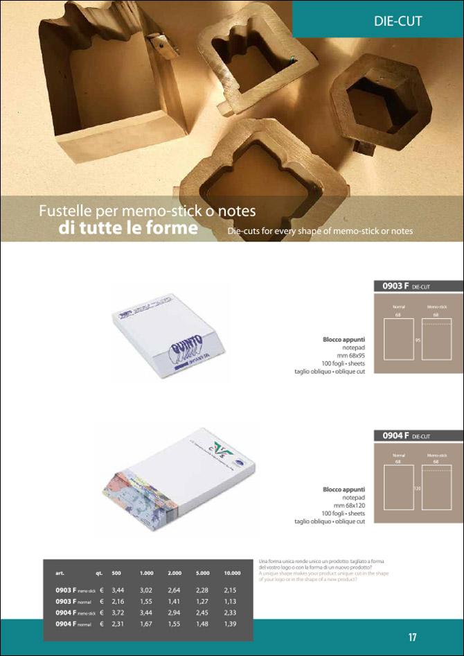 Memo-stick foglietti adesivi di tutte le forme: Sfoglia il catalogo