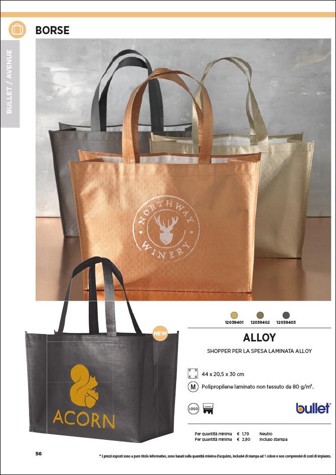 Shopper e borse personalizzate: Sfoglia il catalogo