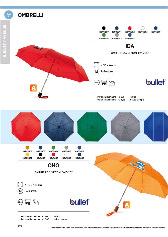 Ombrelli e meteo - Gadget personalizzati con logo: Sfoglia il catalogo