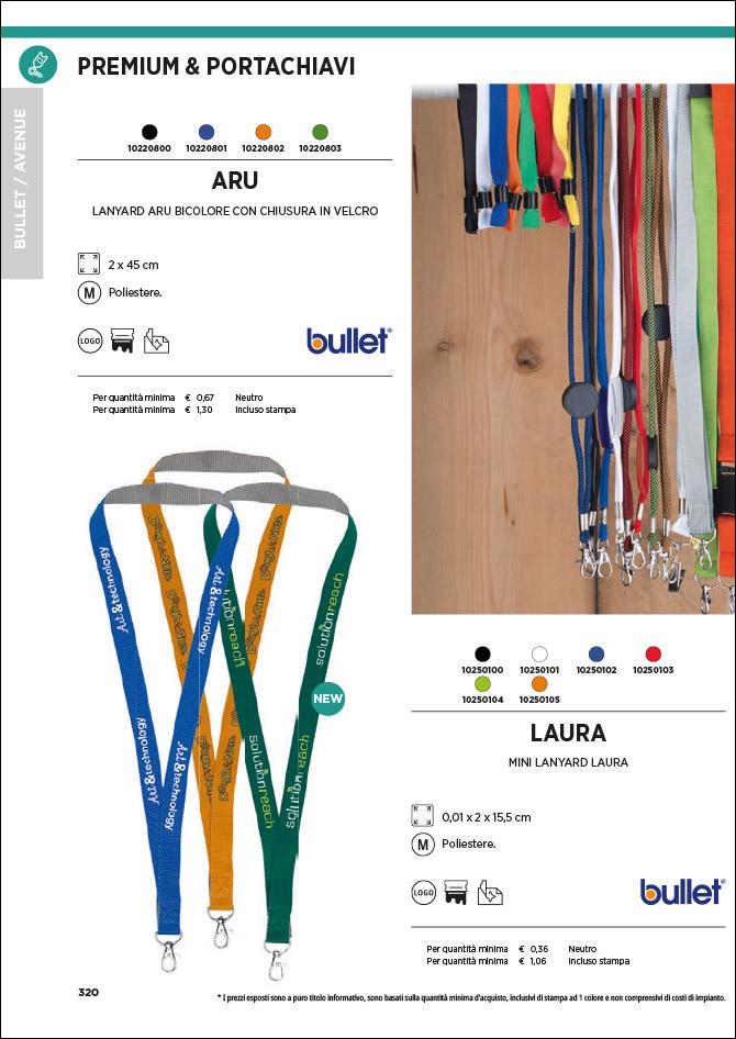Premium e portachiavi personalizzati: Sfoglia il catalogo
