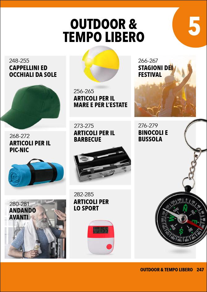 Gadget personalizzati outdoor e tempo libero: Sfoglia il catalogo