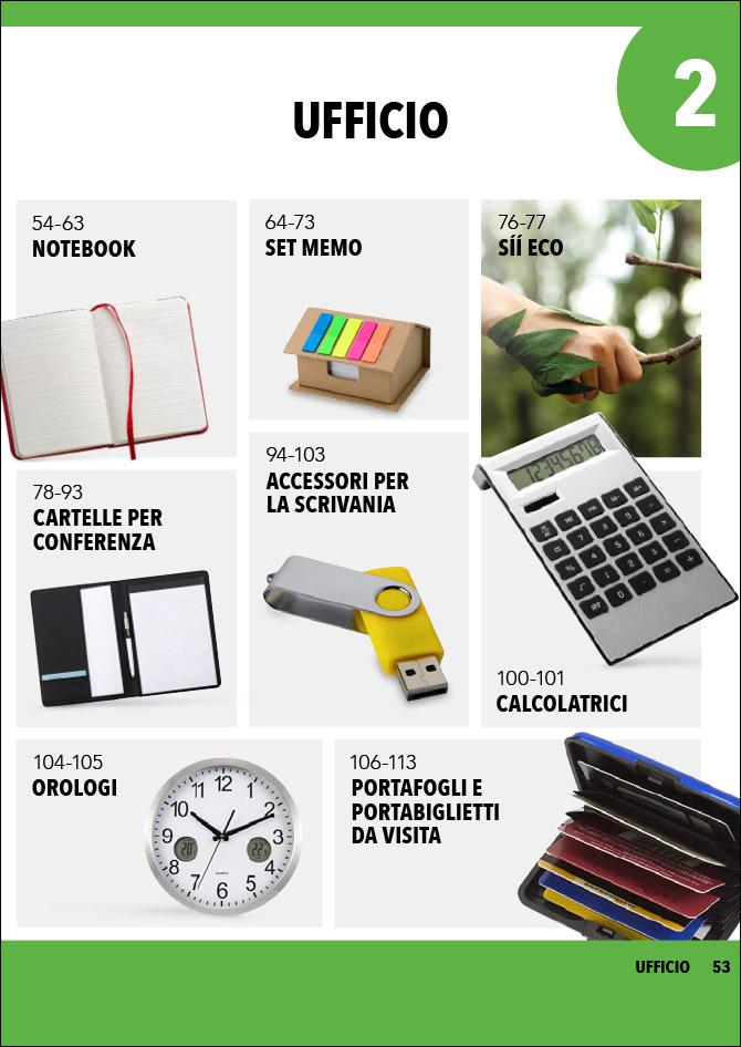Articoli e gadget per l'ufficio personalizzati: Sfoglia il catalogo