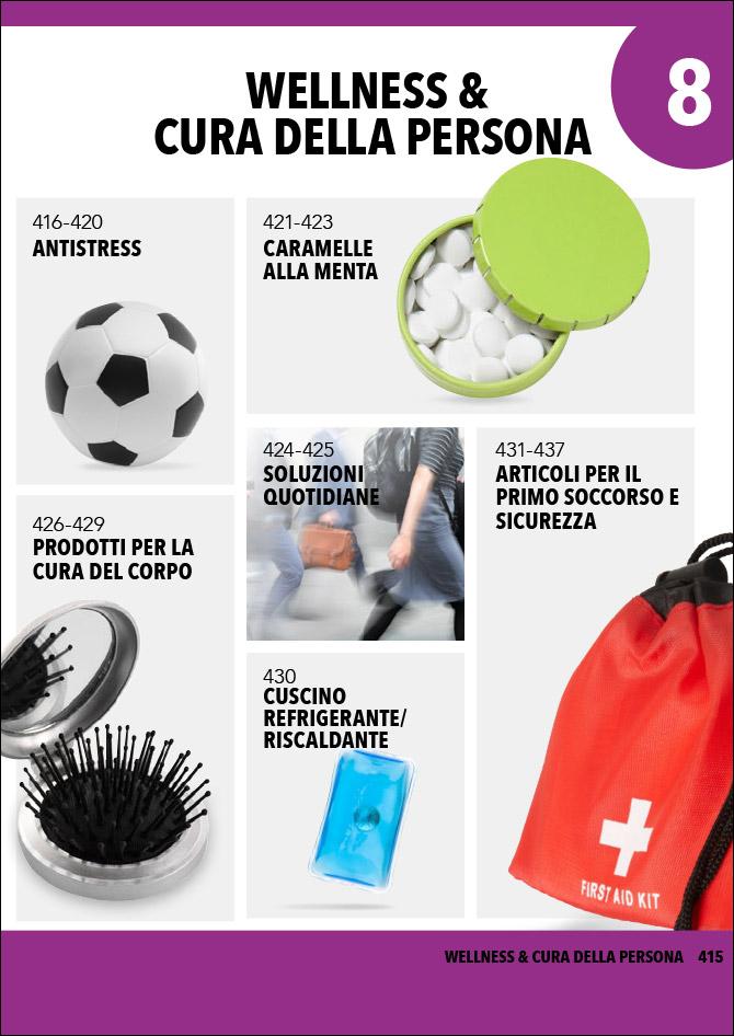 Gadget wellness e cura della persona: Sfoglia il catalogo