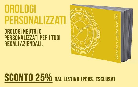 Intermedia Time - Catalogo orologi personalizzati - Sconto 25%