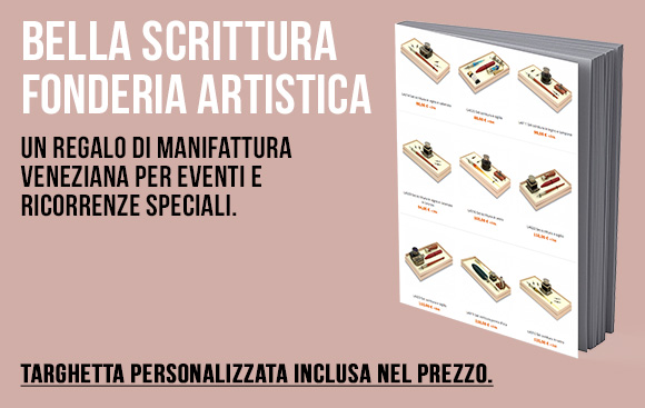 Bortoletti Fonderia Artistica - Set bella scrittura per eventi e ricorrenze speciali