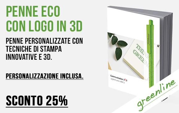 Erga made in italy - Penne Green personalizzate con tecniche di stampa innovative - Sconto 25%