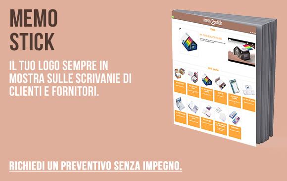 Memo Stick - Il tuo logo sempre in mostra con i foglietti adesivi - Richiedi preventivo