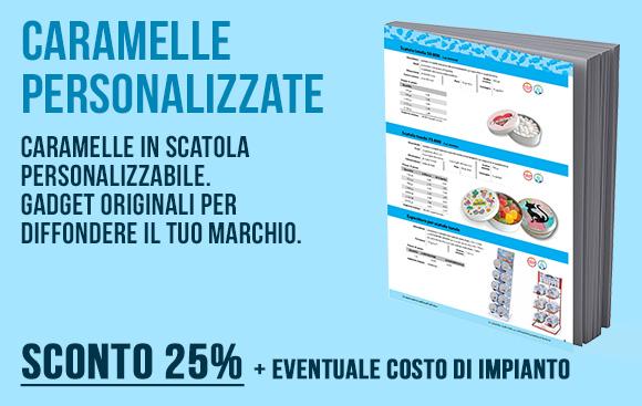 Incap - Caramelle in scatola personalizzabile - Sconto 25%